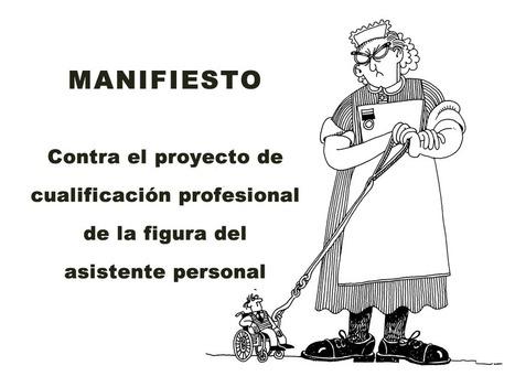 Manifiesto contra el proyecto de cualificación profesional de la figura del asistente personal   Technocare   Tecnocuidado   Scoop.it