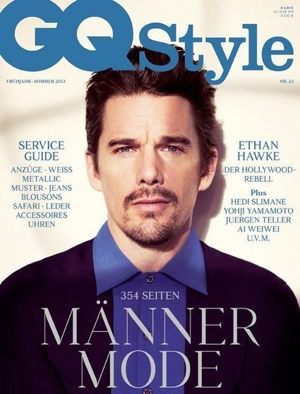 ETHAN HAWKE BY JEM MITCHELL | GQ STYLE GERMANY SPRING/SUMMER 2013 | QUEERWORLD! | Scoop.it