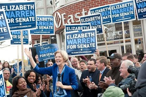 "photo: ""Fantastic rally in Dorchester with Congressman Patrick Kennedy& Ted Kennedy Jr."" @ElizabethforMA 