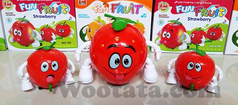 Mainan Anak Lucu Fun Fruit Strawberry | Toko Mainan Anak Online | Scoop.it