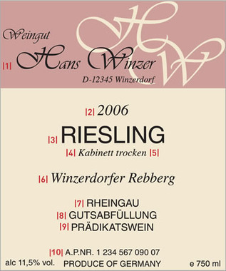 How To Read a Wine Label - Wines of Germany | Angelika's German Magazine | Scoop.it