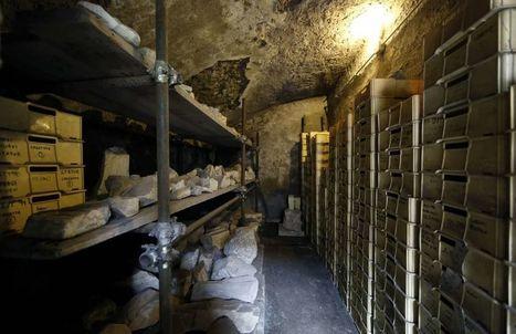 Fori Imperiali, oltre 15mila reperti archeologicI nascosti in un magazzino   LVDVS CHIRONIS 3.0   Scoop.it