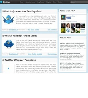 Twitter Blogger Template | Free and Premium Blogger Templates | Scoop.it