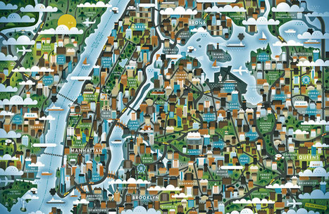 Map Illustrations | Map@Print | Scoop.it