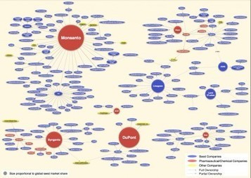 Article: Visualizing Consolidation in the Global Seed Industry: 1996-2008, By Phil Howard | my universe | Scoop.it