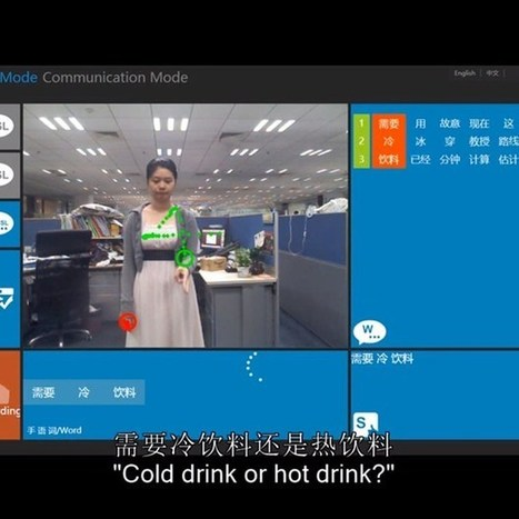 Microsoft Kinect used to live-translate sign language into text | Regenerating IT | Scoop.it