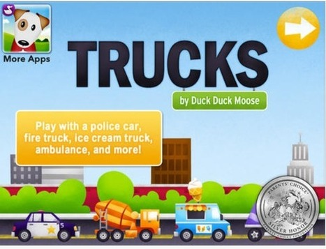 adapted innovation: iPad App Review: Trucks HD | Education and Recreation | Scoop.it
