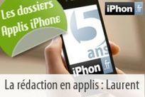 Dossier app iPhone : Les 25 applications iPhone favorites de Laurent, votre hôte sur iPhon.fr | Geeks | Scoop.it