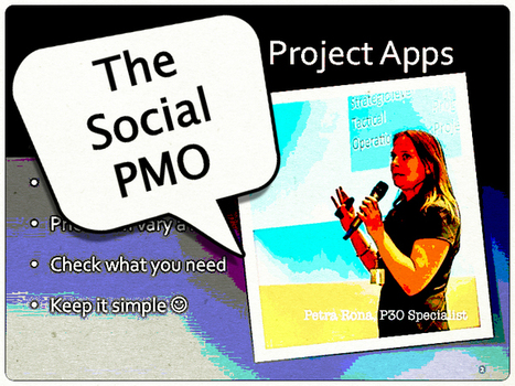 The Social PMO; intelligence & cooperation with common sense ... | p3o | Scoop.it