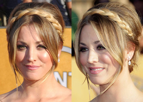 SAG Awards 2012: Celebrity hair trend – halo braids and pretty plaits | kapsel trends | Scoop.it