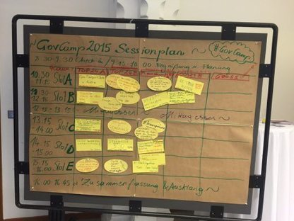 #GovCamp: Das Barcamp-Programm | e-governance solutions | Scoop.it