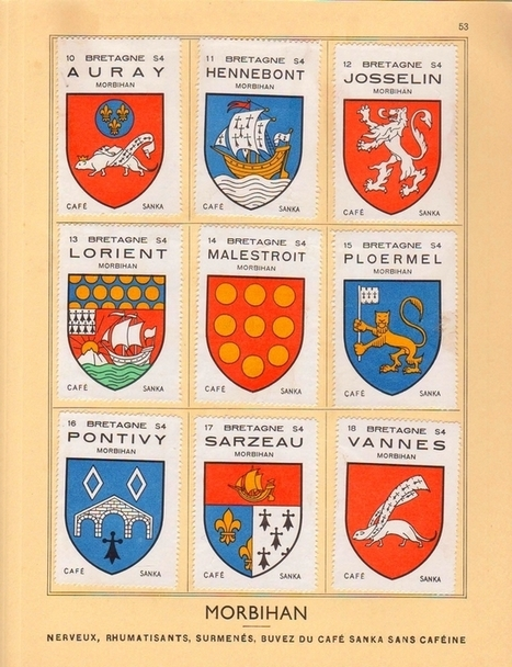 Herald Dick Magazine: Albums à vignettes Sanka #04 : la Bretagne | Rhit Genealogie | Scoop.it