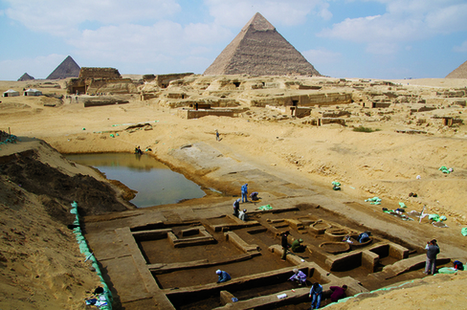 Photos: Amazing Discoveries at Egypt's Giza Pyramids | Egyptology and Archaeology | Scoop.it