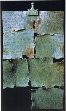 A Cortona il documento più antico su vino, Tabula Cortonensis - ANSA.it | Italica | Scoop.it