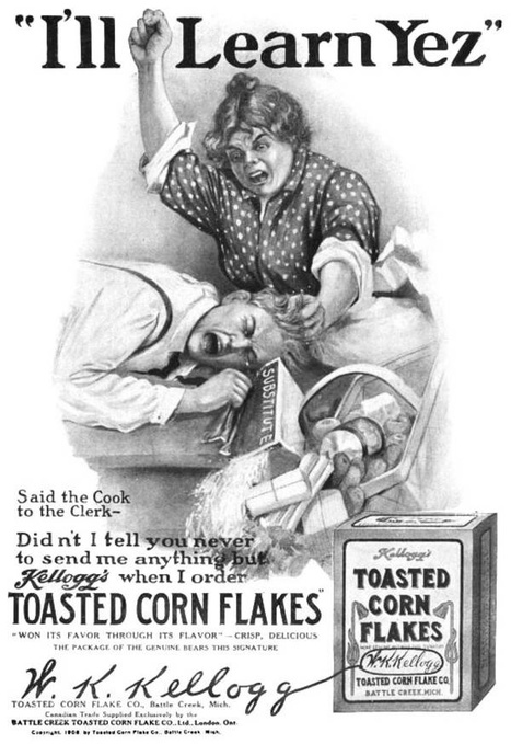 1908 Kellogg's Corn Flakes | A Cultural History of Advertising | Scoop.it