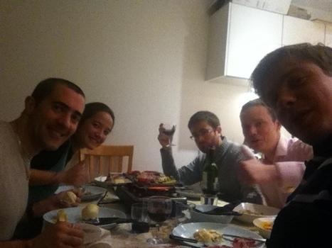 Raclette Party in London, UK - ISENWorld.over-blog.com | L'ISEN International | Scoop.it