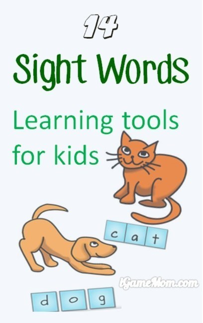 Best Sight Words Learning Tools for Kids | Edtech PK-12 | Scoop.it