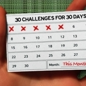 30 Challenges for 30 Days | High Existence | All About Coaching | Scoop.it