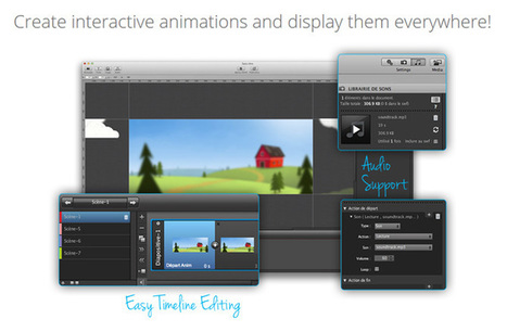 15 Top HTML5 Tools to Create Advanced Animation With | Software aplicable a la educación | Scoop.it