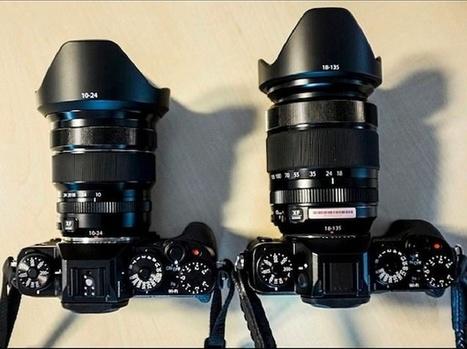 Size Comparison: X-T1 with XF 18-135mm and XF 10-24mm! - Fuji Rumors | Fuji X | Scoop.it