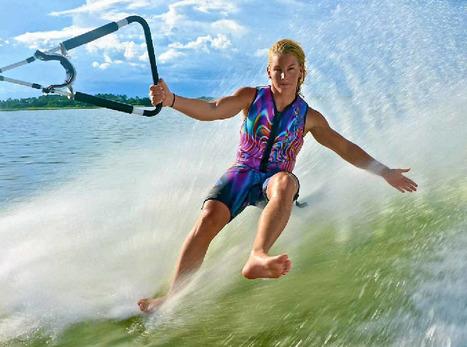 Barefoot water skier Ashleigh Stebbeings living her dream! | Barefoot Waterski | Scoop.it