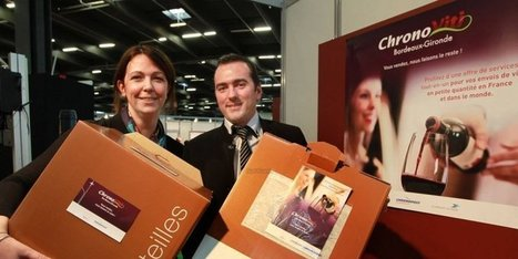 "Chronopost emballe le vin | ""Viticulture en gironde"" 