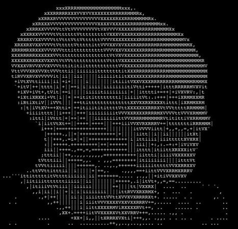 8 Inspiring Stories Of ASCII Art - Smashing Magazine   ASCII Art   Scoop.it