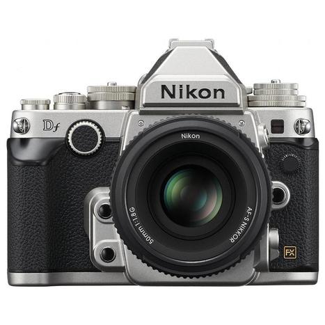 Nikon's Df D-SLR Packs a Full-Frame Sensor, Classic Look | Nikon DF | Scoop.it