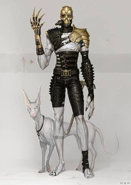 Artwork by Ngm #Character #Design #Steampunk #Steamgoth | Graphisme & Illustration | Scoop.it