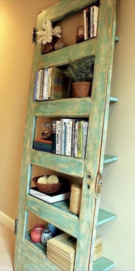 20 DIY Ideas To Use Old Stuff - Home Improvement Projects | LBM | Scoop.it