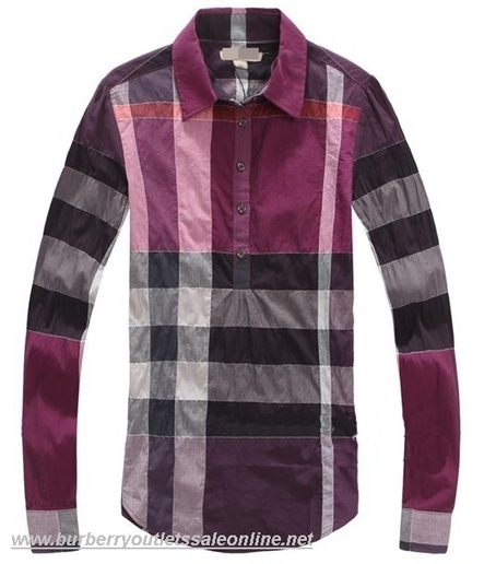 Burberry Classic Women Shirt Purple [B003786] - $95.00 : Burberry Outlet Stores,Burberry Outlet Online,Cheap Burberry For Sale | Burberry Oultet | Scoop.it