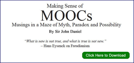 White Paper : Making Sense of MOOCs | Science ouverte - Open science | Scoop.it