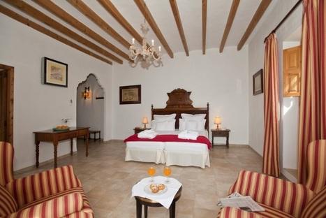 Bed room of Can Estades hotel in Mallorca | Finca Hotel Majorca | Scoop.it