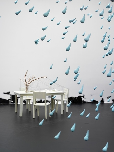 1500 Giant Raindrops Hang Magically in Mid-Air - My Modern Metropolis | Le It e Amo ✪ | Scoop.it