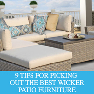 9 Tips for Choosing the Best Wicker Patio Furniture for Your Outdoor Space - Design Furnishings   Outdoor Furnishings   Scoop.it