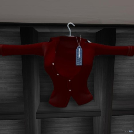 Jenna Red Shirt Group Gift by Sentinus | Teleport Hub - Second Life Freebies | Second Life Freebies | Scoop.it