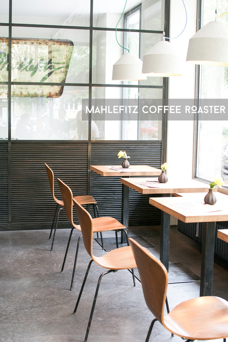 Happy Interior Blog: From Place To Space: Mahlefitz Coffee Roasters & Café In Munich | Retail Design | Scoop.it