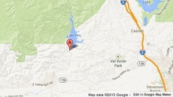 Ventura County firefighters battle brush fire by Lake Piru - Los Angeles Times | MGT 307 | Scoop.it