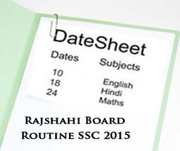 Rajshahi Board SSC Exams Routine 2015 Science & Arts | Education for Bangladeshi Student | Scoop.it