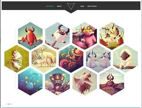 15 Free and New PSD Website Templates | Design resources for your website | Scoop.it