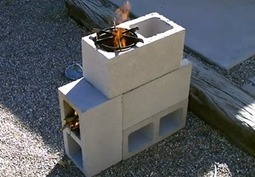 Cinderblock Rocket Stove | Sustain Our Earth | Scoop.it