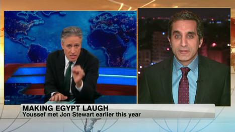 Egypt's Jon Stewart getting laughs amidst turmoil - CNN (blog) | Politics ME | Scoop.it