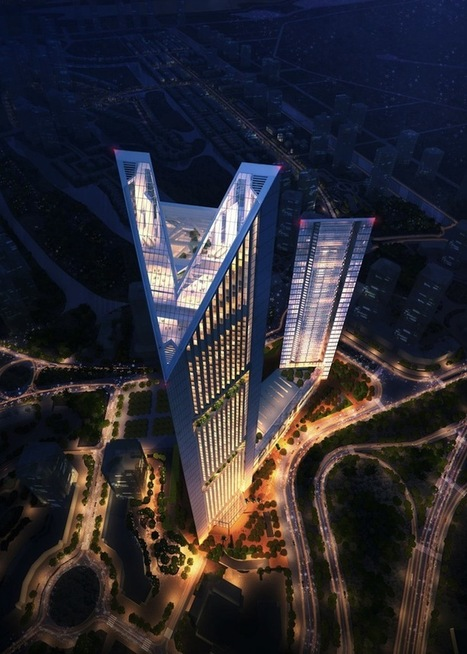 Vietnam's Stunning New Skyscraper | Asia: Modern architecture | Scoop.it