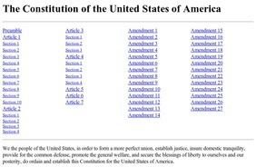 The Constitution of the United States of America | Positively Political | Scoop.it