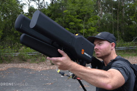 This humongous beast of an anti-drone gun isn't quite as nasty as it looks | Criminology, Law and Justice | Scoop.it