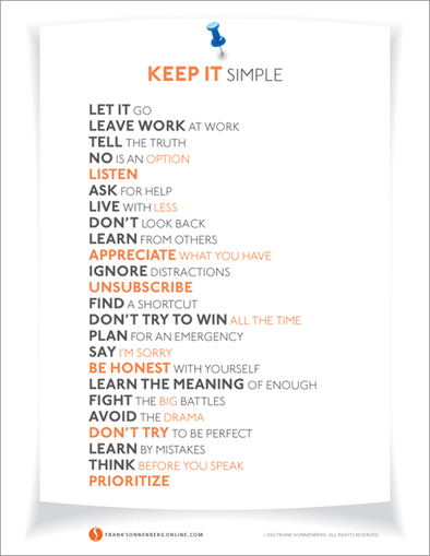 24 Ways to Simplify Your Life | #SoftSkills #LEARNing2LEARN  | Educadores innovadores y aulas con memoria | Scoop.it