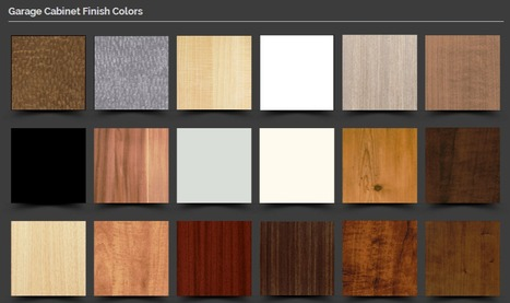 Finishes for Garage Cabinets by #1 Garage Builder in NJ | Things that interest me | Scoop.it