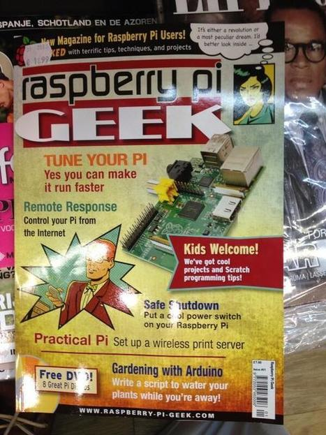 There is even a magazine on Raspberry Pi... | Raspberry Pi | Scoop.it