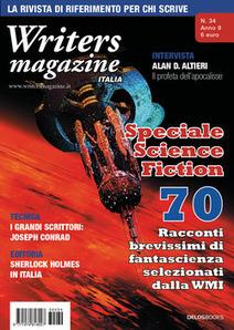 Delos Books: Writers Magazine Italia 34, speciale fantascienza | notizie mie | Scoop.it