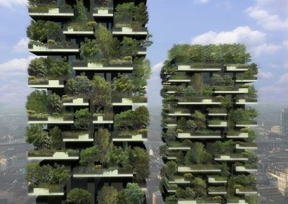 Stefano Boeri's Vertical Forest gets planted | The Glory of the Garden | Scoop.it